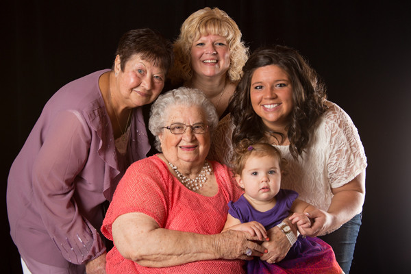 5 generation photo shoot